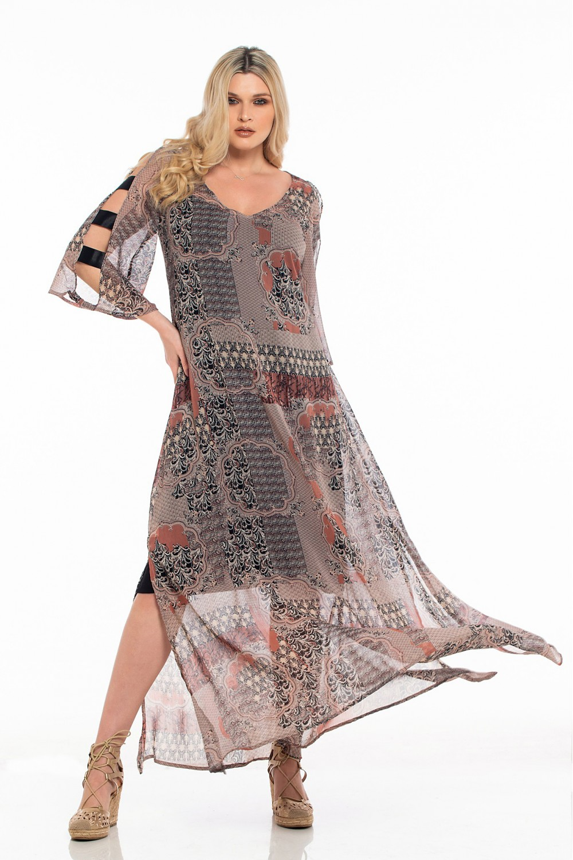 Φόρεμα εμπριμέ OSSIGENO